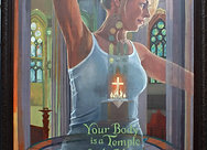 Body/Temple  Giclee Print