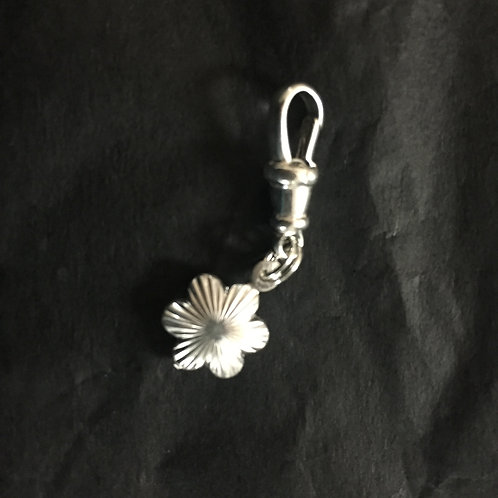 Patterned Flower Charm