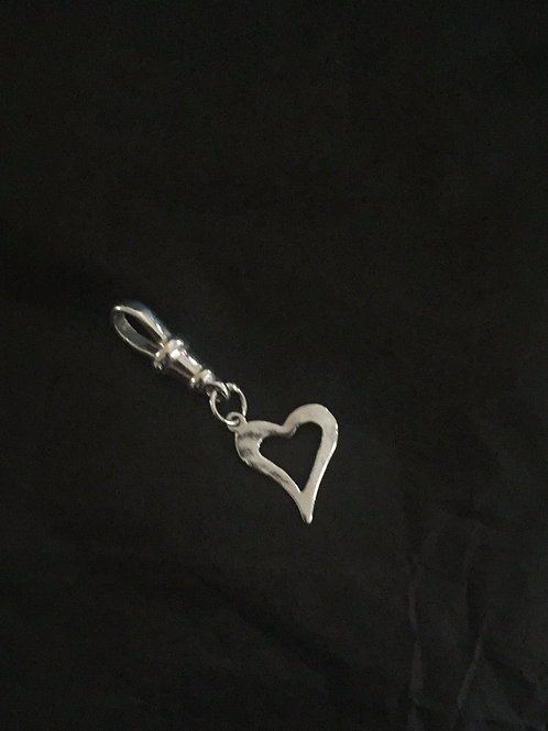 Curved Heart Charm