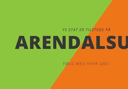 YS Stat på plass i Arendal