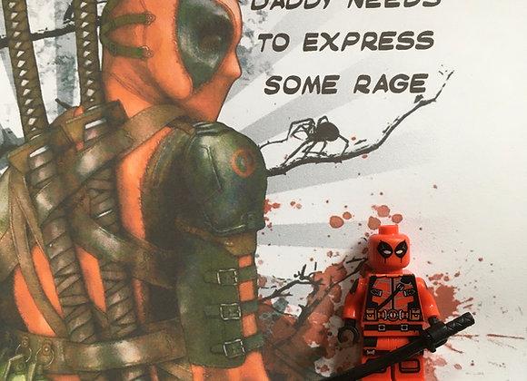 Minifigure Art -Deadpool (a)