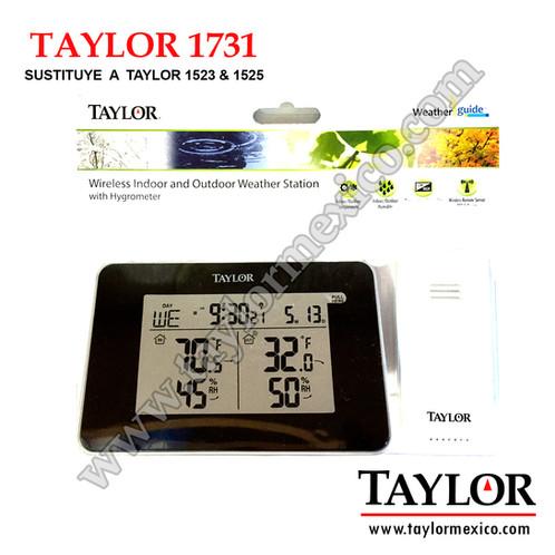 Termohigrometro Taylor 1731 Taylor M 233 Xico Instrumentos
