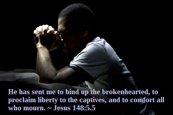prayer-man 148 5 5 mourn brokenhearted l