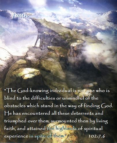 Highland of spiritual faith 3 with passa