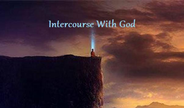 spiritual revelation man on cliff illumi