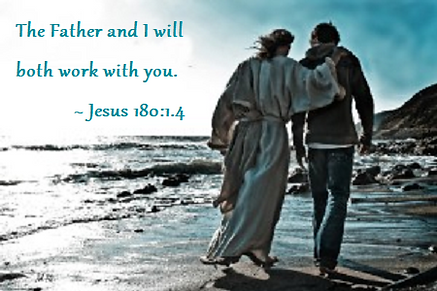 Jesus and friend 180 1 4 Father and I wi