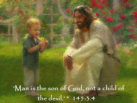the-dandelion-greg-olsen Jesus child son