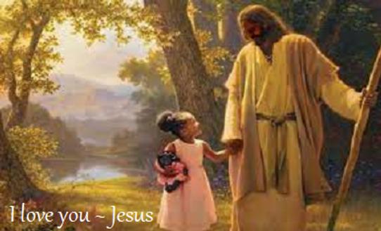 Jesus child walking I love you Jesus.png