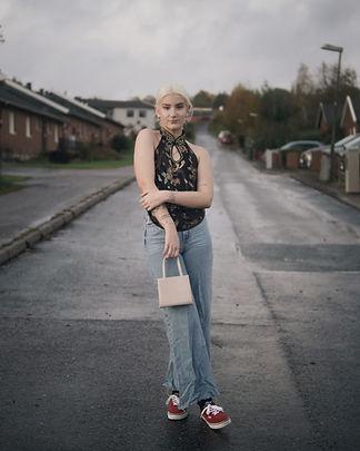 Mode porträtt för Björka Frihet Second hand.