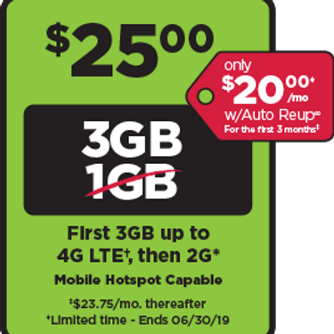 Simple Mobile -  $25 Plan Unlimited -  New Activations