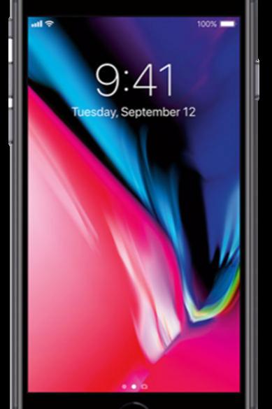 iPhone 8 Plus 64gb -  Unlocked - Black