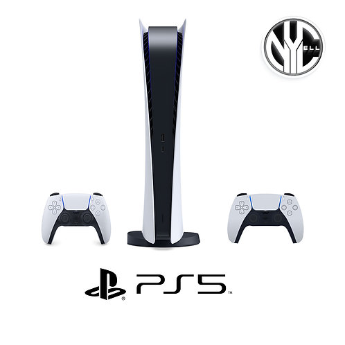 Playstation 5 - Digital Version w/Free Controller