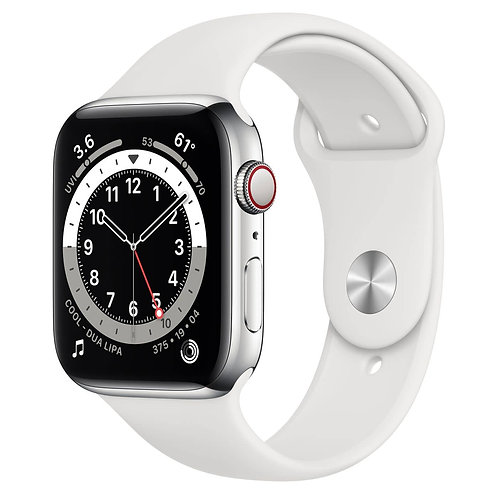 Apple Watch Series 6 44mm - silver gps only- New