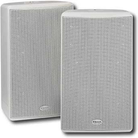 Klipsch KHO-7 White Outdoor Loudspeaker - 2 Pieces Open Box