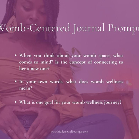 Journal Writing: The Journey to Your Womb