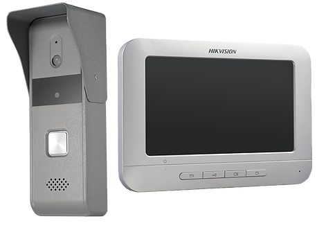 HIKVISION 4線模擬視像門口對講機套裝