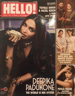 HELLO! INDIA,December 2016
