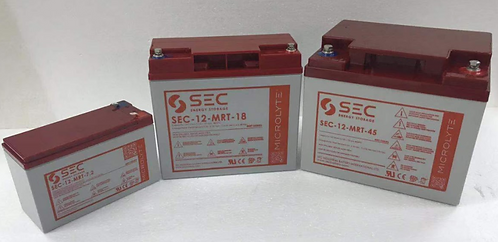SEC 免維護鉛酸電池