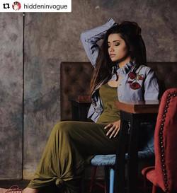 Akanksha Singh - Hidden In Vogue