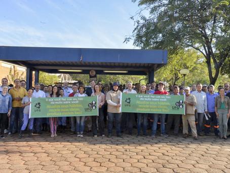 "Projeto UFG Sustentável retoma campanha ""Campus Limpo, Lixo Zero"""