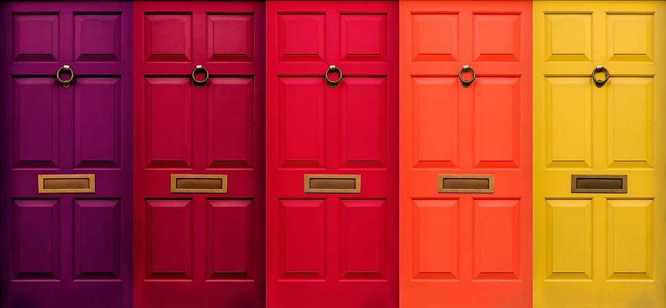 Colourful English Doors.jpg