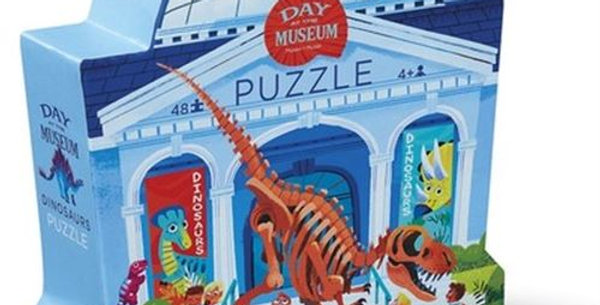 Day at the Museum - Dinosaur 48 pcs