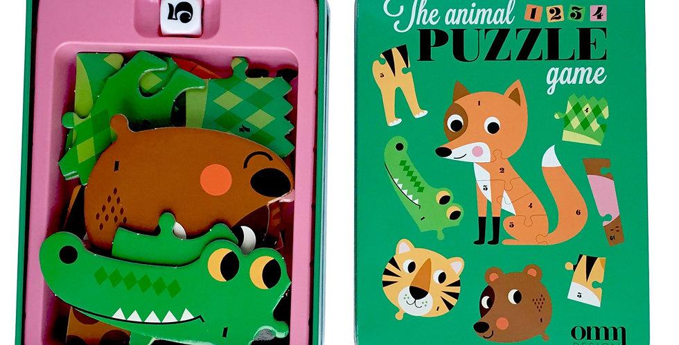 Puzzle Dices - Animals