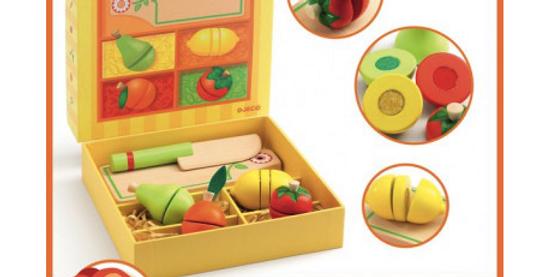 Gourmandises - Fruits et légumes à couper