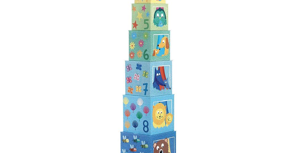 Cubes 1er age - Arc en ciel