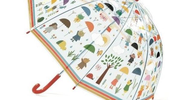 Parapluies - Sous la pluie