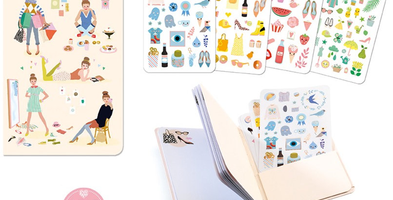 Lovely Paper - Carnet stickers Tinou