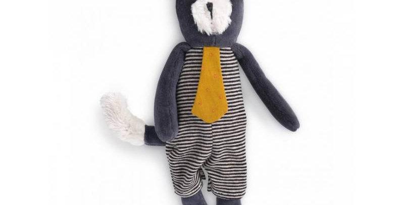 Miniature chat gris Alphonse Les Moustaches