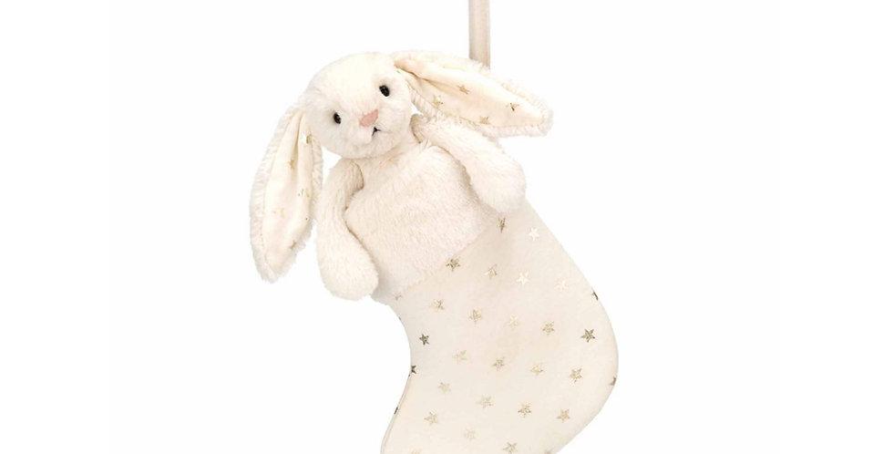 Bashfull Twinkle Bunny stocking