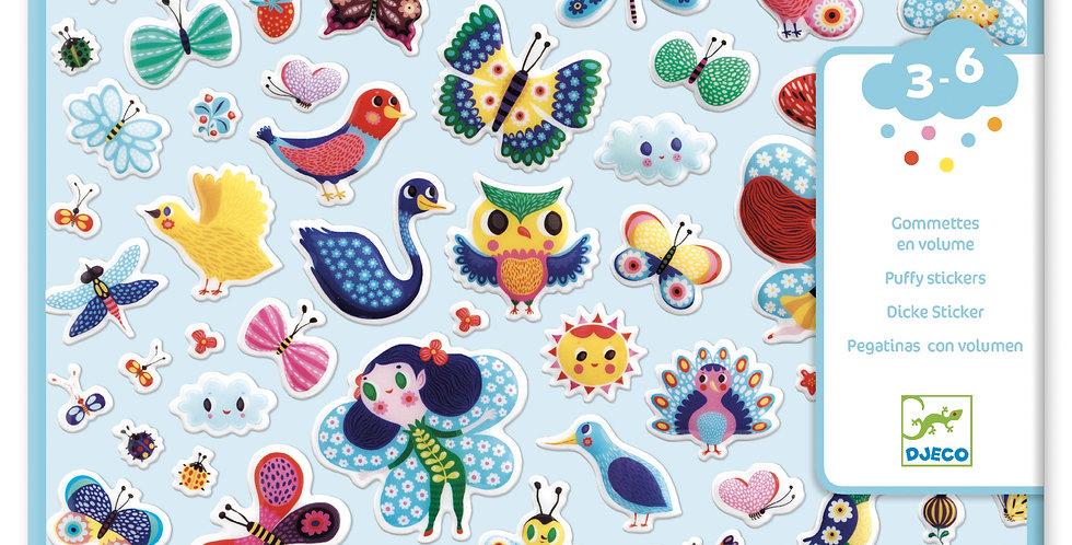 Gommettes et stickers - Petites ailes