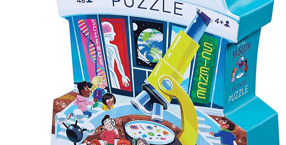 Day at the Museum -  Science 48 pcs