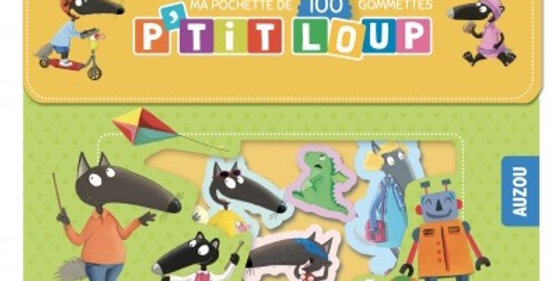 Ma pochette de 100 gommettes P'tit Loup