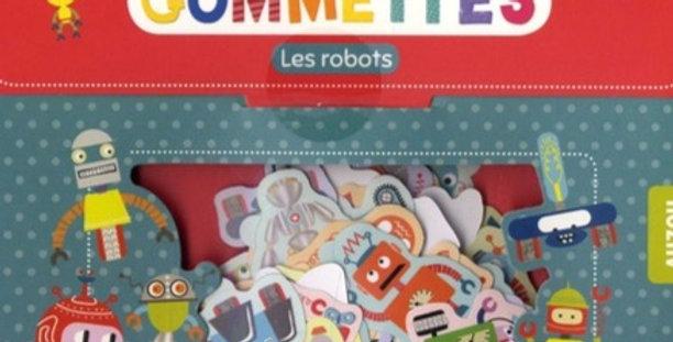 Gommettes - Les Robots