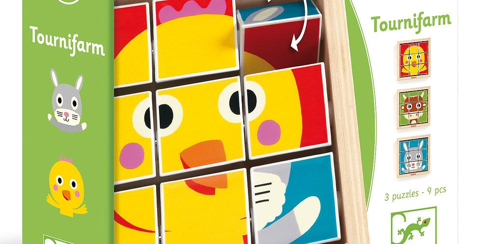 Puzzles bois - Tournifarm