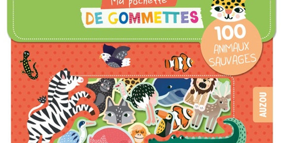 Gommettes - Animaux sauvages