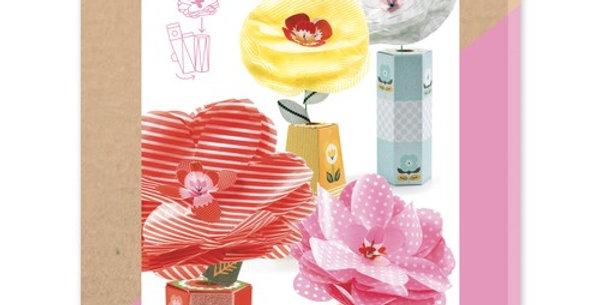 DIY - Rétrochic fleurs et vases