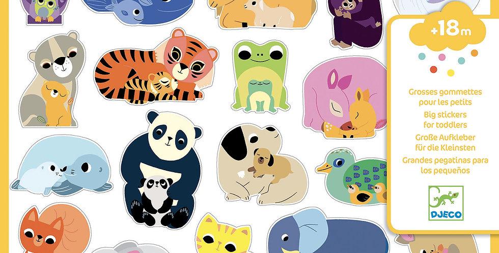 Gommettes et stickers - Mamans Bébés