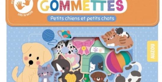 Gommettes - Petits chiens et petits chats