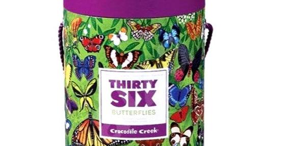 Puzzle 100 pcs - 36 Butterflies