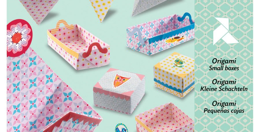 Origami - Petites boites