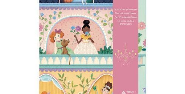 Puzzle géant - La tour des princesses 36 pcs