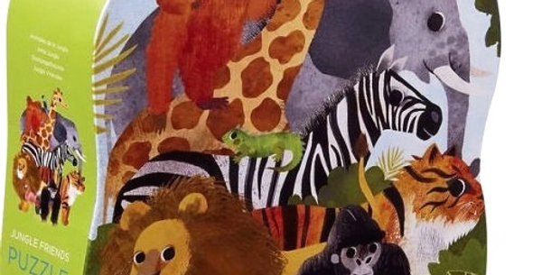 36 pcs Shaped Puzzle - Jungle Friends