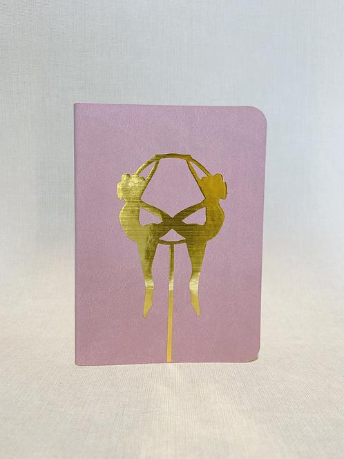 Hoop Ladies Notebook - Pink