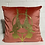Thumbnail: Coral Velvet Aerialists Cushion
