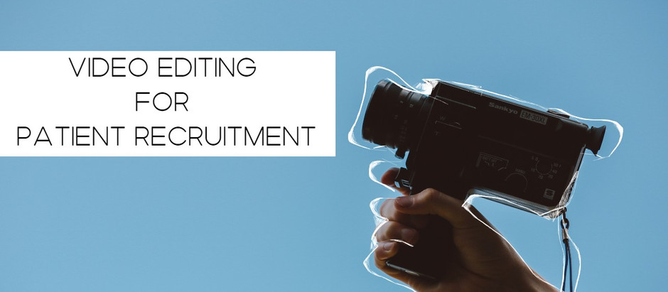 Video marketing among the latest patient recruitment strategies for clinical trials