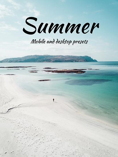Summer-preset pack